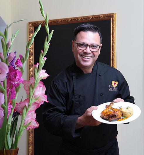 Jorge Gatell, Koch von Papa Corazón