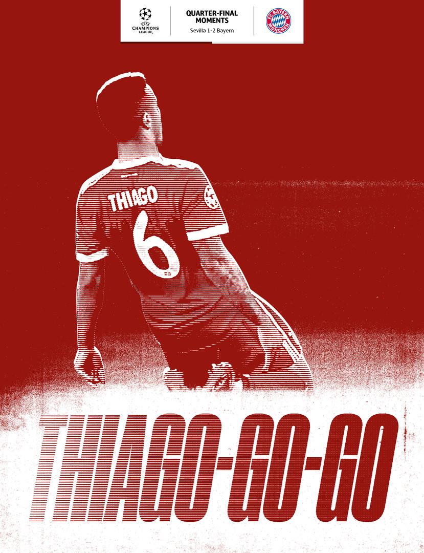 Thiago's goal