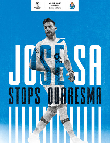 José Sa save from Ricardo Quaresma
