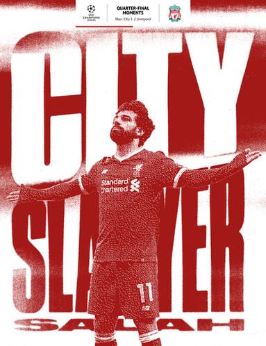 Salah's second leg goal