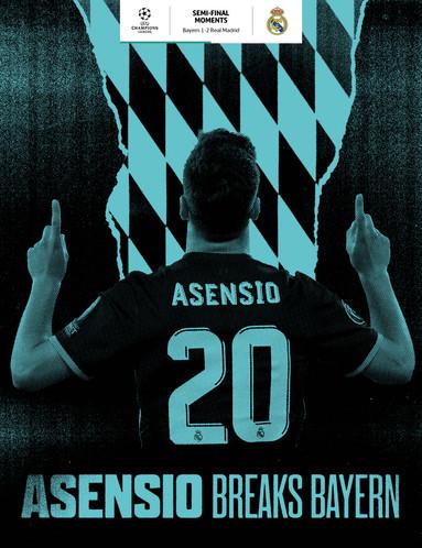 Asensio's deciding goal