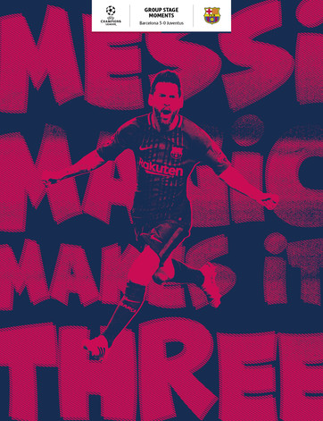 Messi makes it 3–0