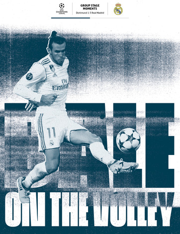 Brilliant Bale volley