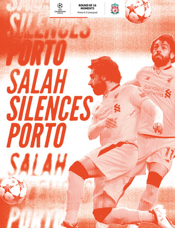 Mohamed Salah's juggled finish