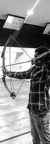 1st indoor #archery session _rossoutdoor