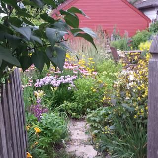 Along the Garden Path