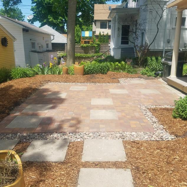 Backyard design/install - Milwaukee
