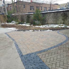 Turnaround addition to existing patio
