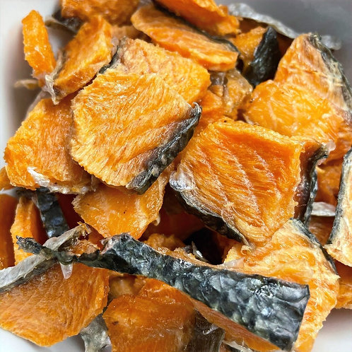 Salmon Jerky - Single Ingredient Treat (2 oz. bag)