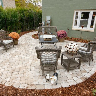 Historic Greendale Design Install - backyard patio