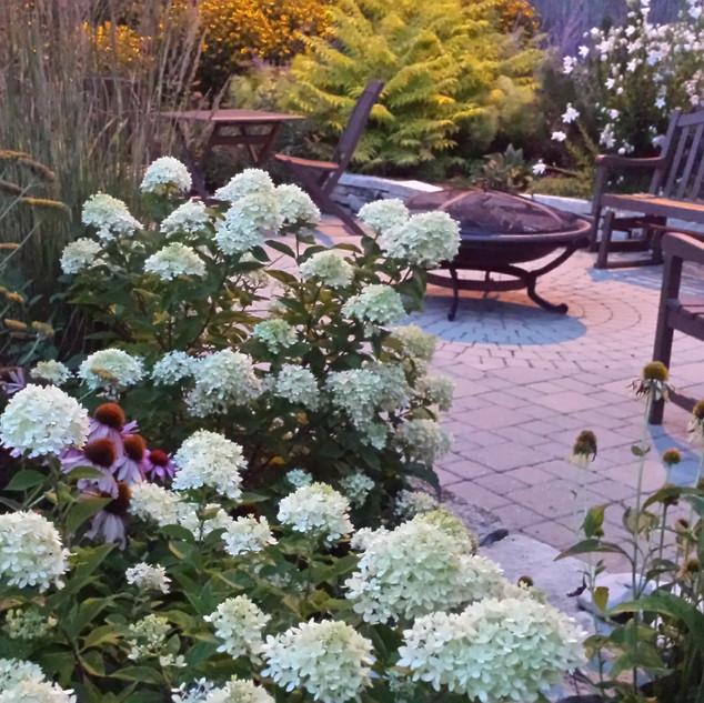 Bakyard patio - Shorewood