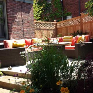 Small Urban Backyard