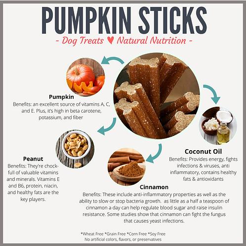 Pumpkin Chewiness Sticks