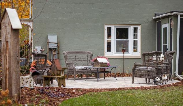 Historic Greendale Design Install - backyard