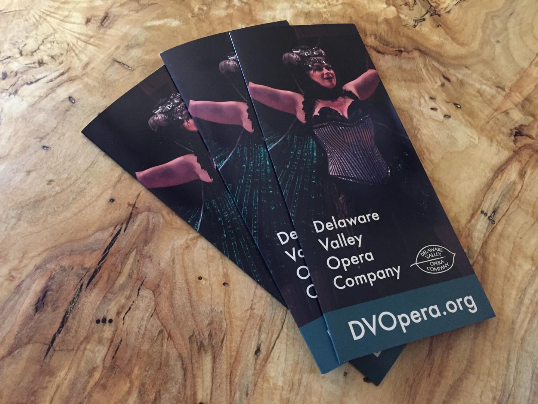 Delaware Valley Opera Company - Brochure