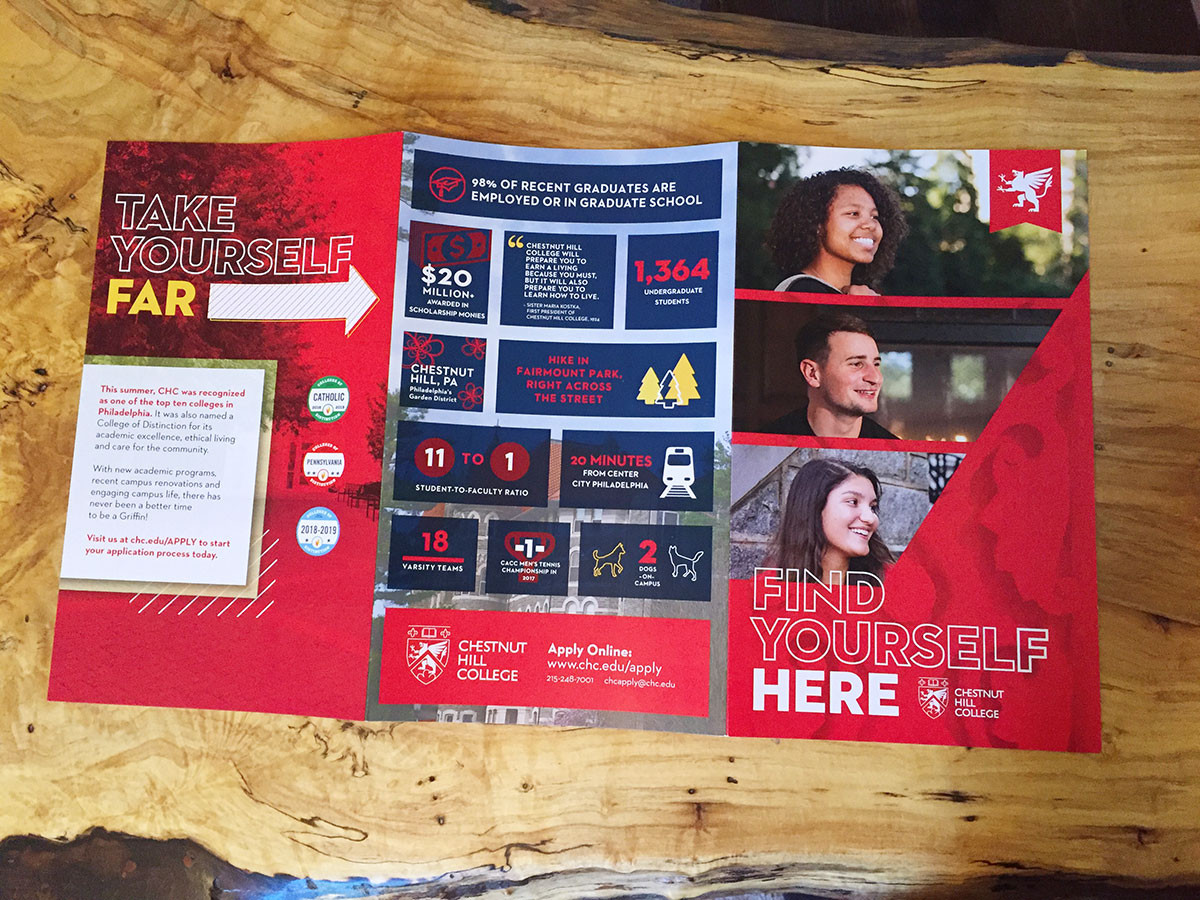 Chestnut Hill College - Trifold Outside