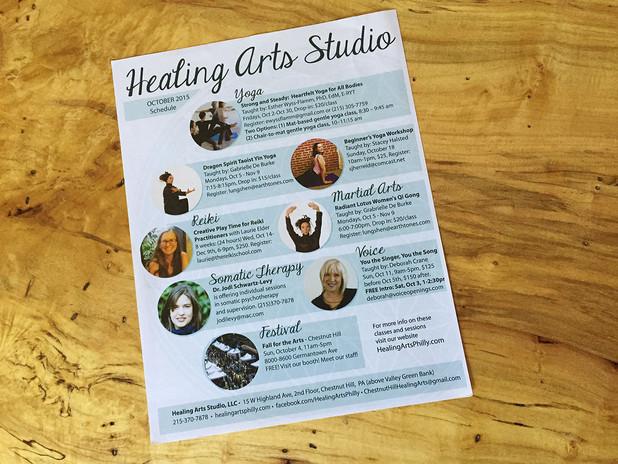 Healing Arts Flyer