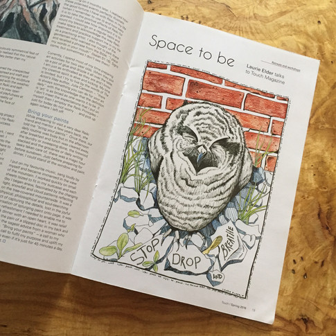 Touch Magazine - Illustration & Article
