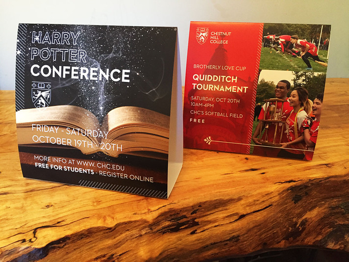 Chestnut Hill College - Table Tents