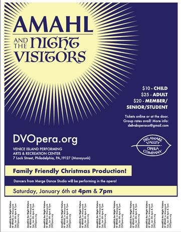 Delaware Valley Opera Company - Flyer