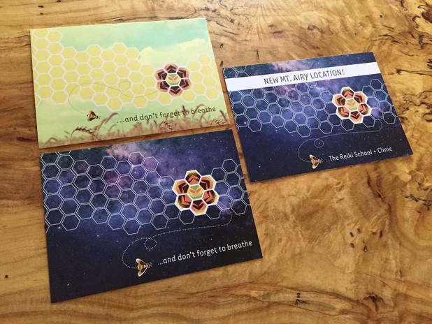 The Reiki School + Clinic - Postcard