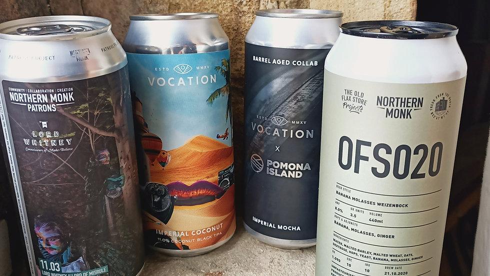 Ultimate Imperial Craft Beer 4-Pack!