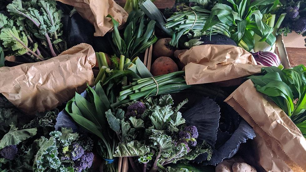 Half Organic Veg Box