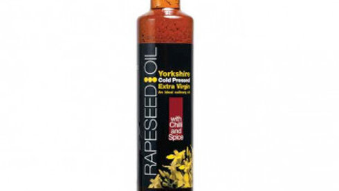 Yorkshire Rapeseed Oil w/ Chilli & Spice 500ml