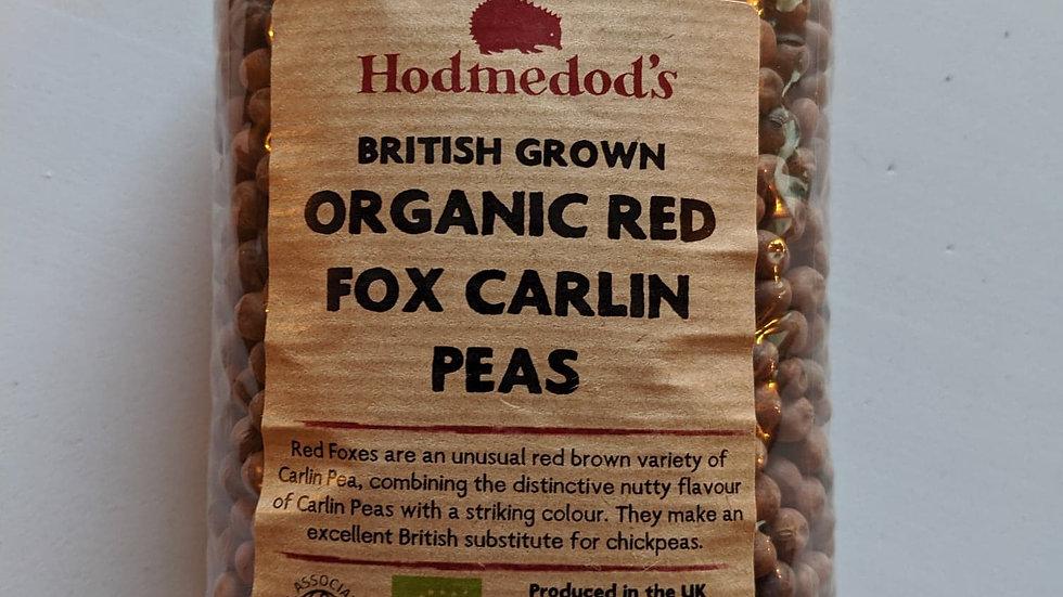 Red fox carlin peas 500g