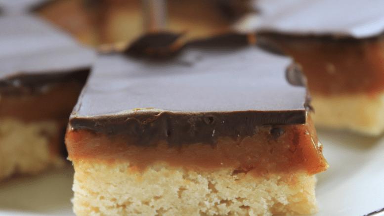 Kenworthy's Cakes Millionaire Shortbread- 4 large slices
