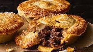Beef & Mushroom Pie (frozen)