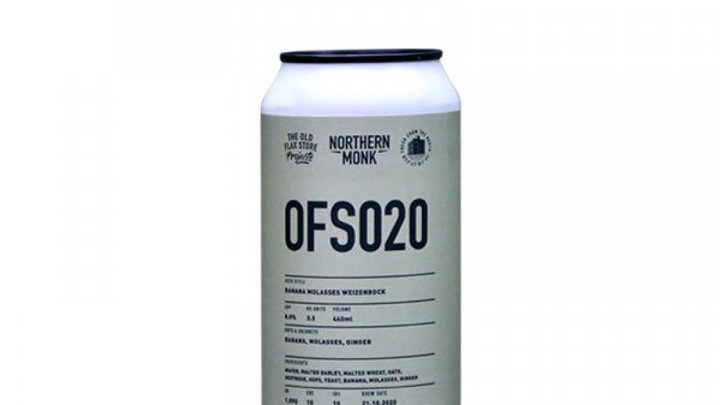 Northern Monk 0FS020 Banana Molasses Weizenbock 440ml 8%