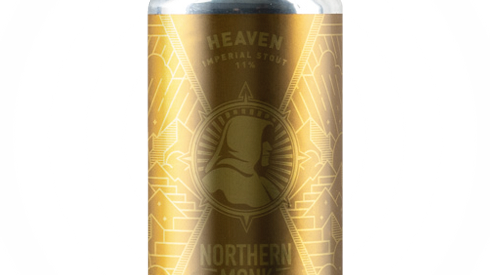 Northern Monk Heaven- Bourbon Barrel-Aged Stout 330ml 11%