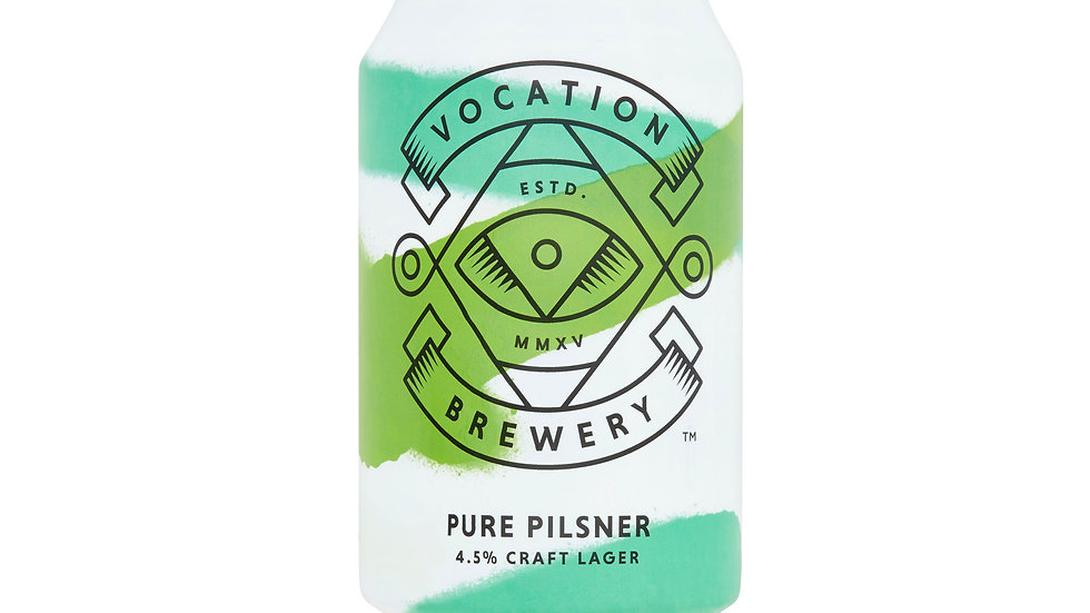 Vocation Pure Pilsner 4.5% 4x330ml can
