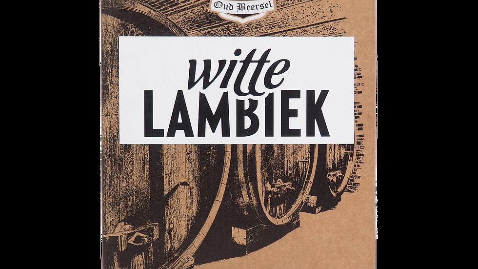 Oud Beersel Witte Lambic 3.1L Beer in Box