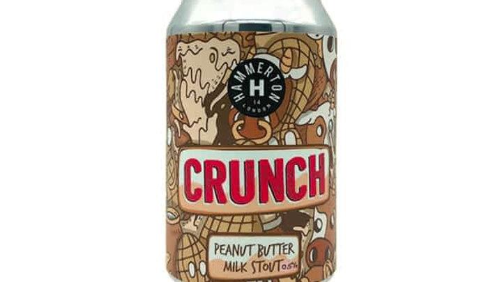 Hammerton Crunch Peanut Butter Milk Stout 330ml 0.5%