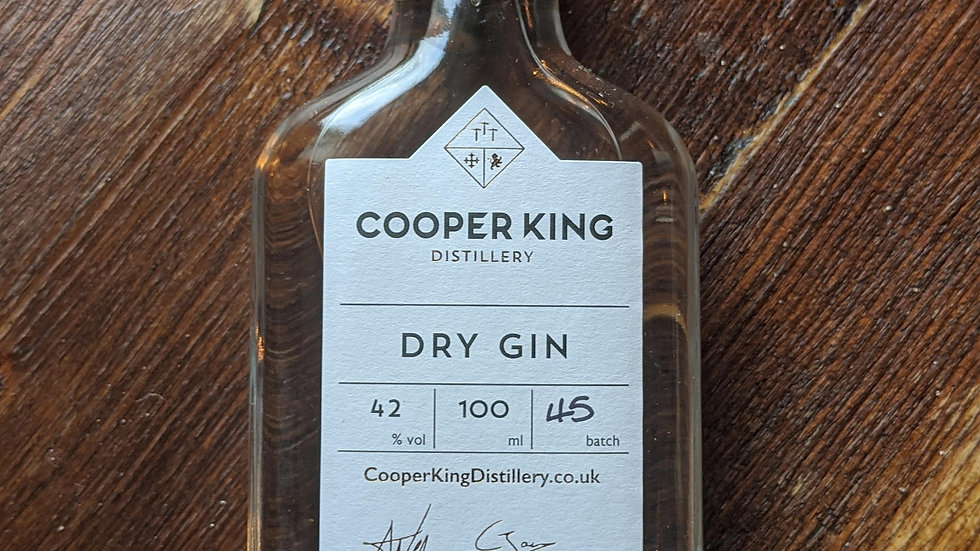 Cooper King 100ml Dry Gin