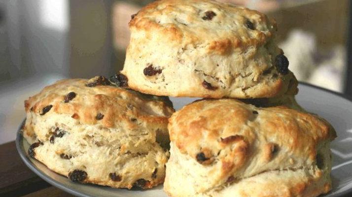 Kenworthy's Cakes Sultana Scones (pack of 4)