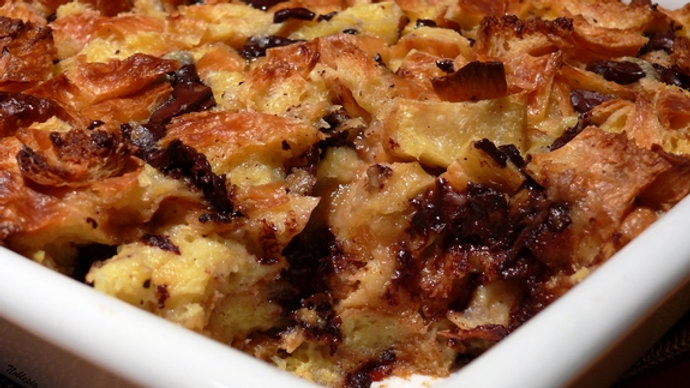 Kenworthy's Cakes Plum and Dark Chocolate Bread and Butter Pudding (frozen)