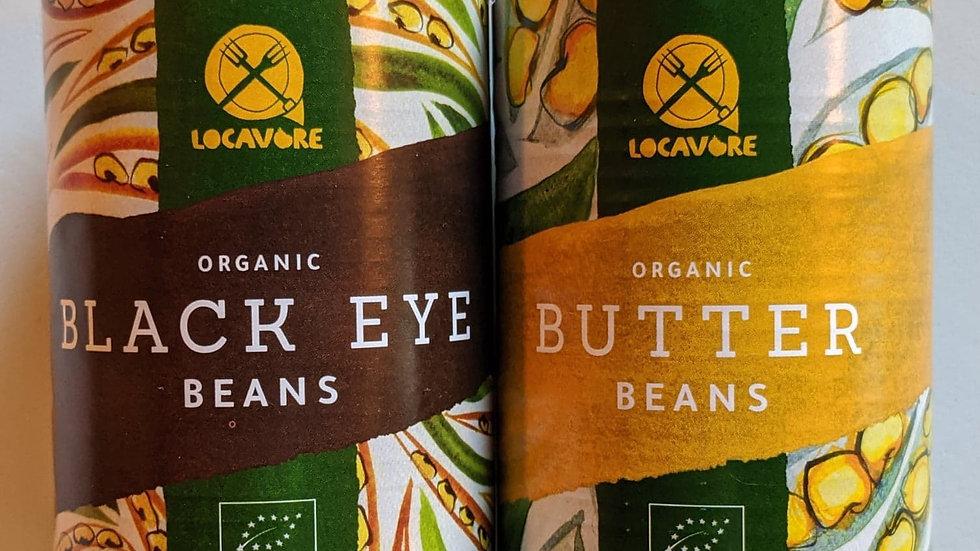 Organic tinned black beans 400g