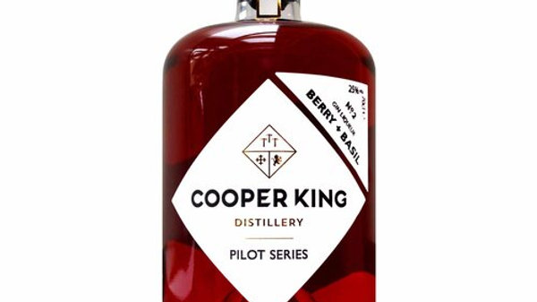 Cooper King Pilot Series No.2- Berry & Basil Gin Liqueur