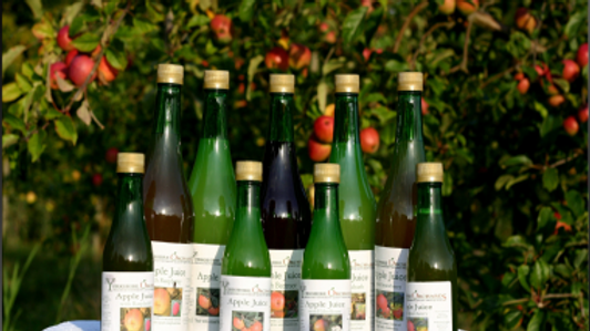 Yorkshire Orchards fresh-pressed juice 750ml