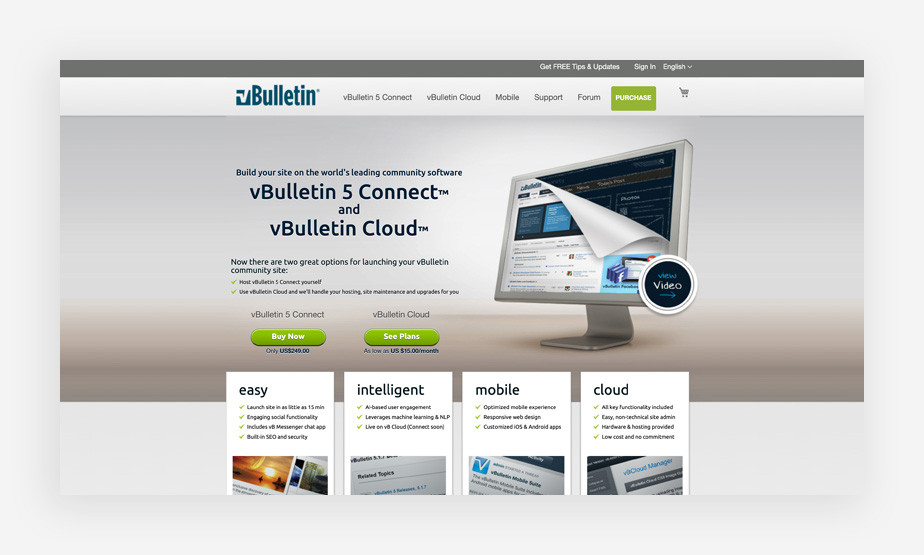 vBulletin Forum Software