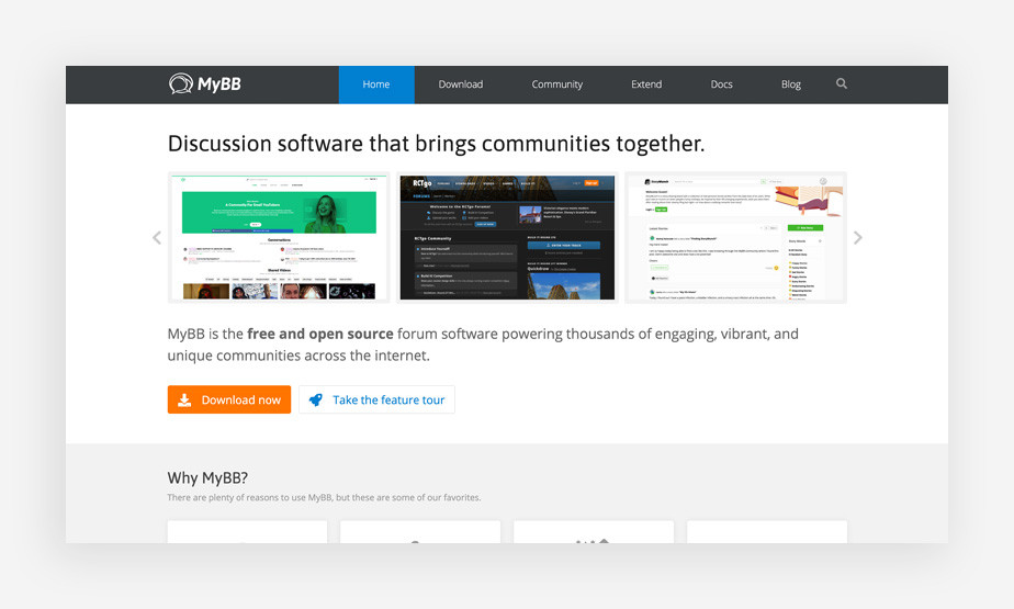 MyBB Forum Software