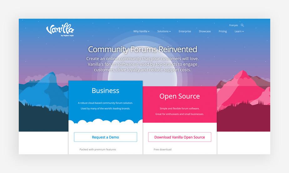Vanilla Forum Software