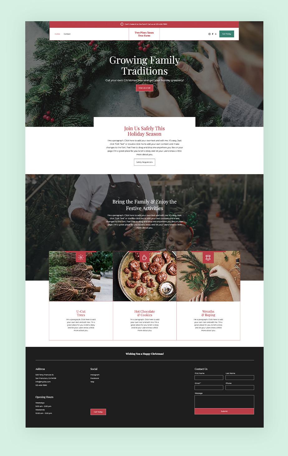Event Website Example