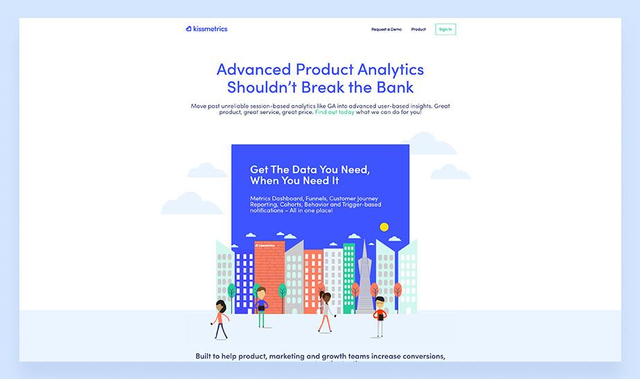 Kissmetrics Web Analytics Tool