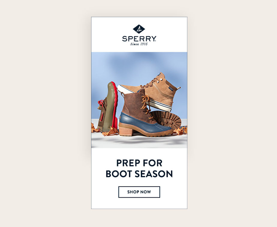Sperry Banner Ad