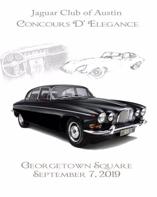 Jaguar Club of Austin Concours d'Elegance 2019