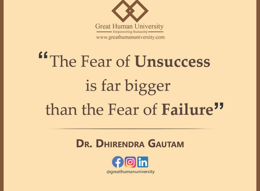 Failure and Unsuccess: Same or different?